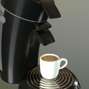 커피 메이커 3d model