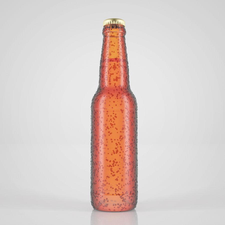 ビール瓶 royalty-free 3d model - Preview no. 1