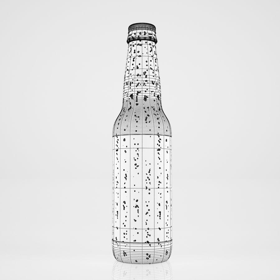ビール瓶 royalty-free 3d model - Preview no. 4