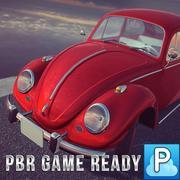 甲虫汽车游戏准备好了 3d model
