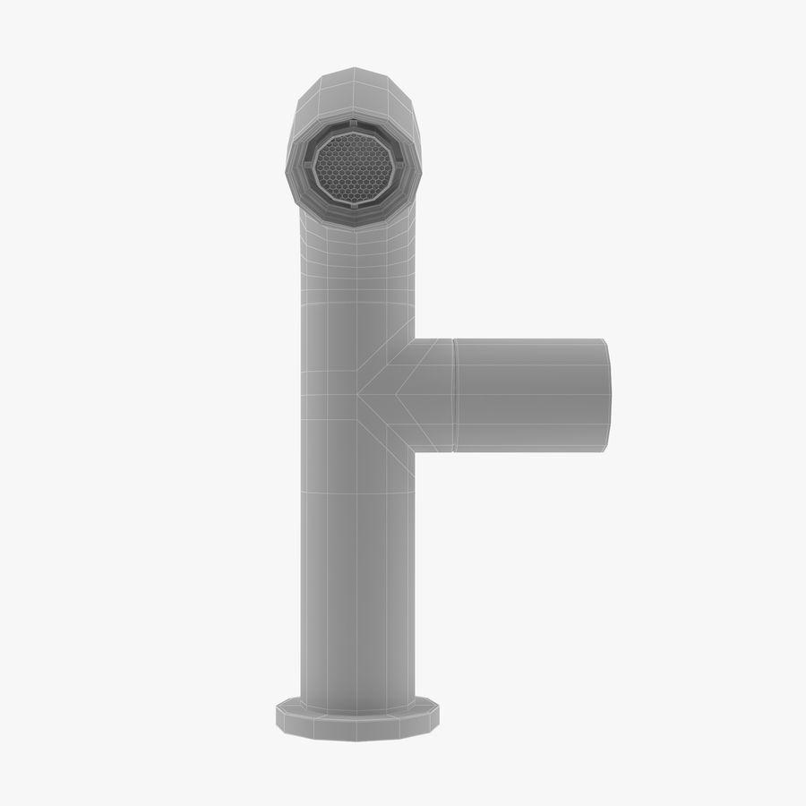 Zazzeri Faucet Set - Torneira para duche royalty-free 3d model - Preview no. 6