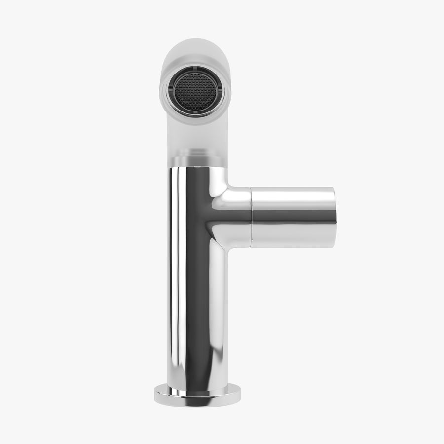 Zazzeri Faucet Set - Torneira para duche royalty-free 3d model - Preview no. 5
