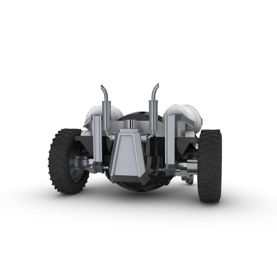 Personagem de robô engraçado 5 royalty-free 3d model - Preview no. 3
