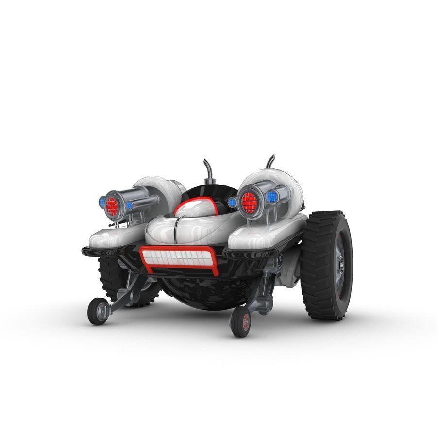 Personagem de robô engraçado 5 royalty-free 3d model - Preview no. 1