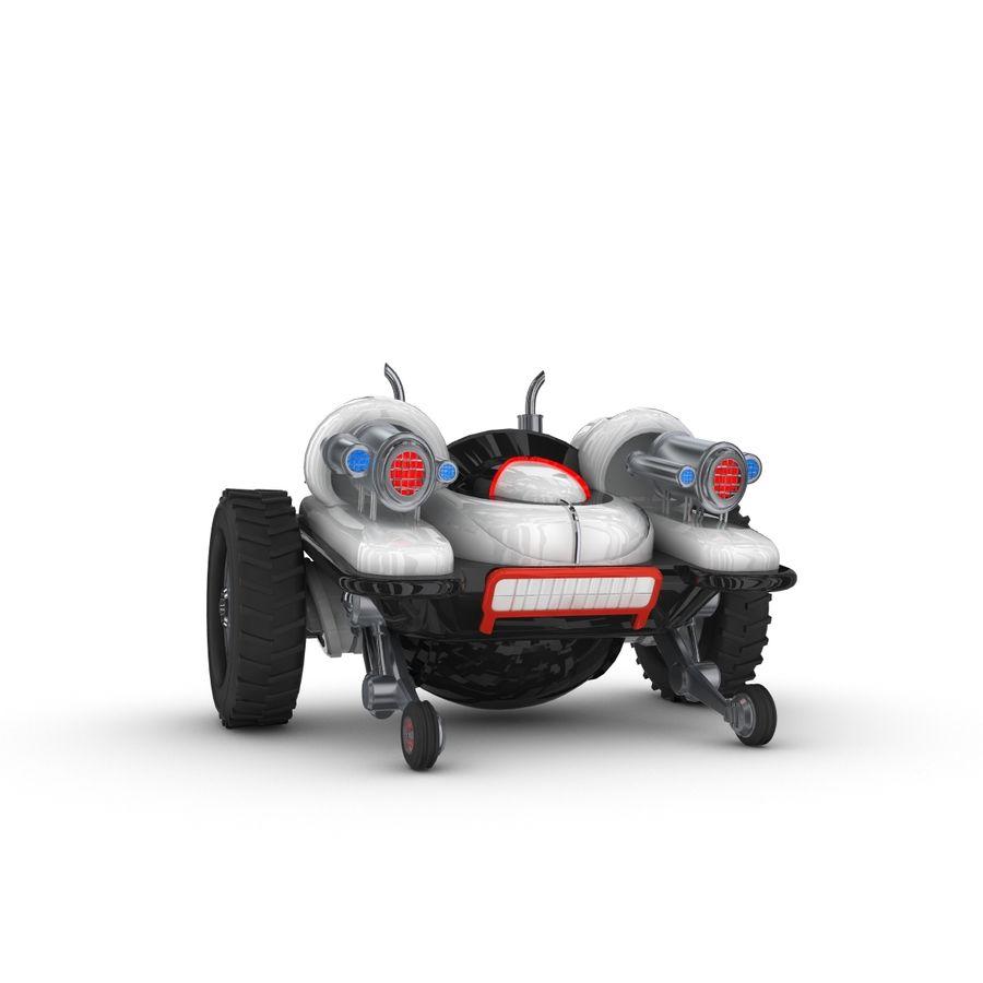 Personagem de robô engraçado 5 royalty-free 3d model - Preview no. 2