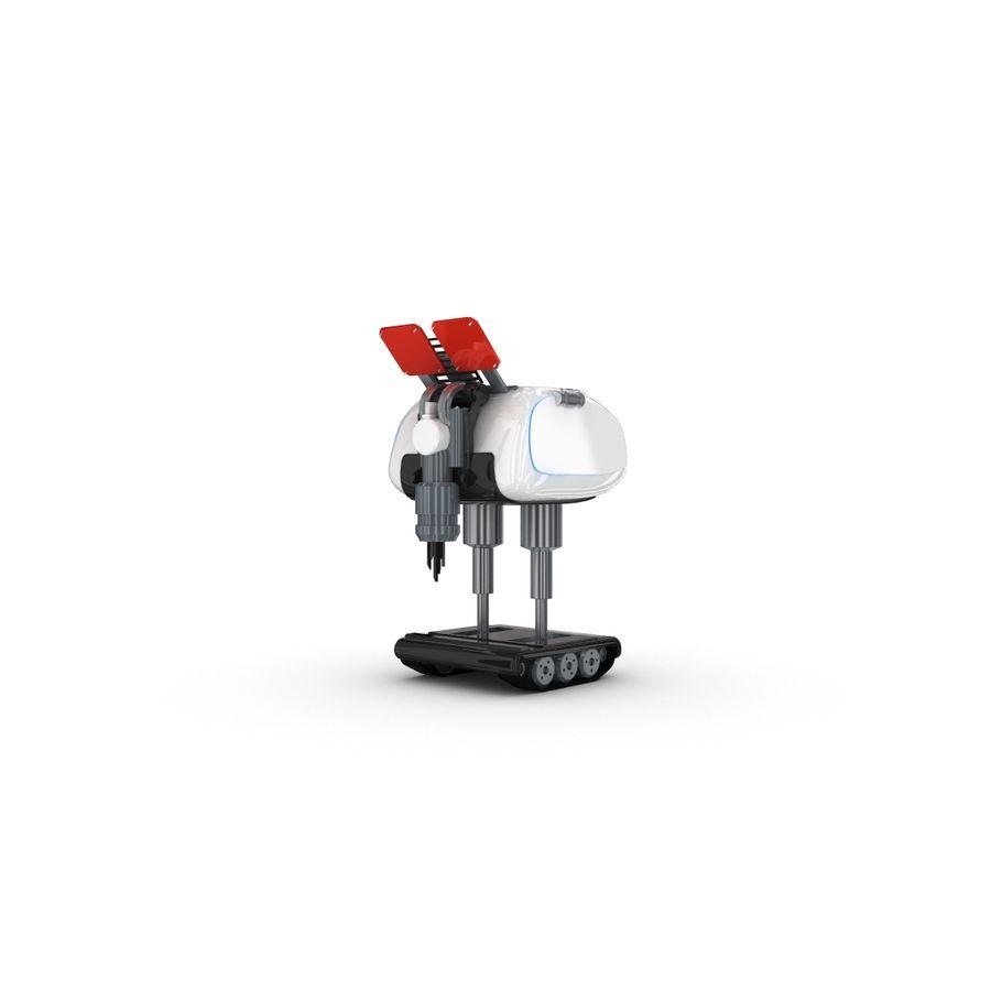 Postać zabawnego robota 14 royalty-free 3d model - Preview no. 4