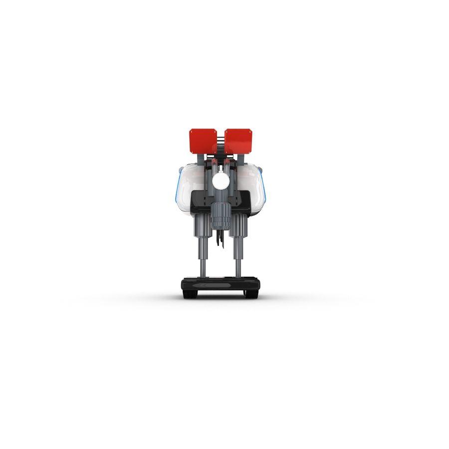 Postać zabawnego robota 14 royalty-free 3d model - Preview no. 5