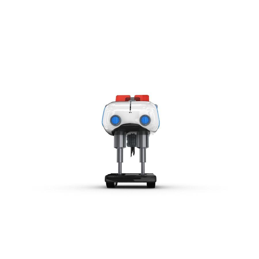 Postać zabawnego robota 14 royalty-free 3d model - Preview no. 2
