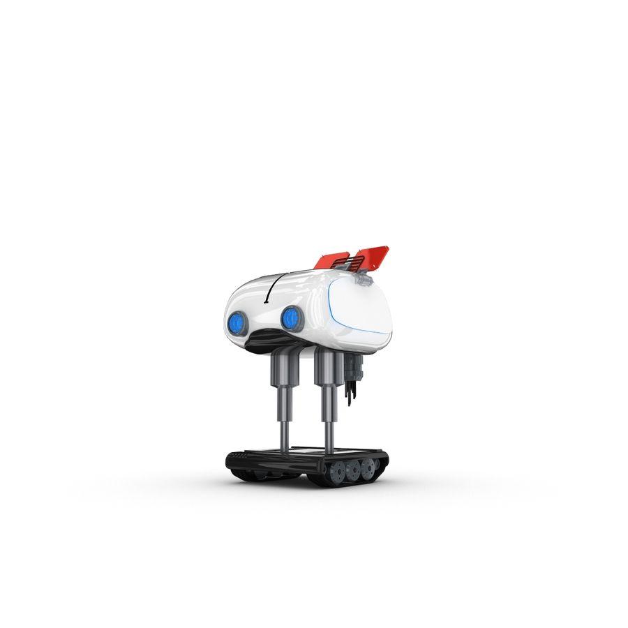 Postać zabawnego robota 14 royalty-free 3d model - Preview no. 1