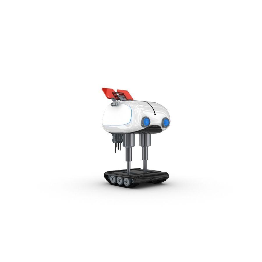 Postać zabawnego robota 14 royalty-free 3d model - Preview no. 3