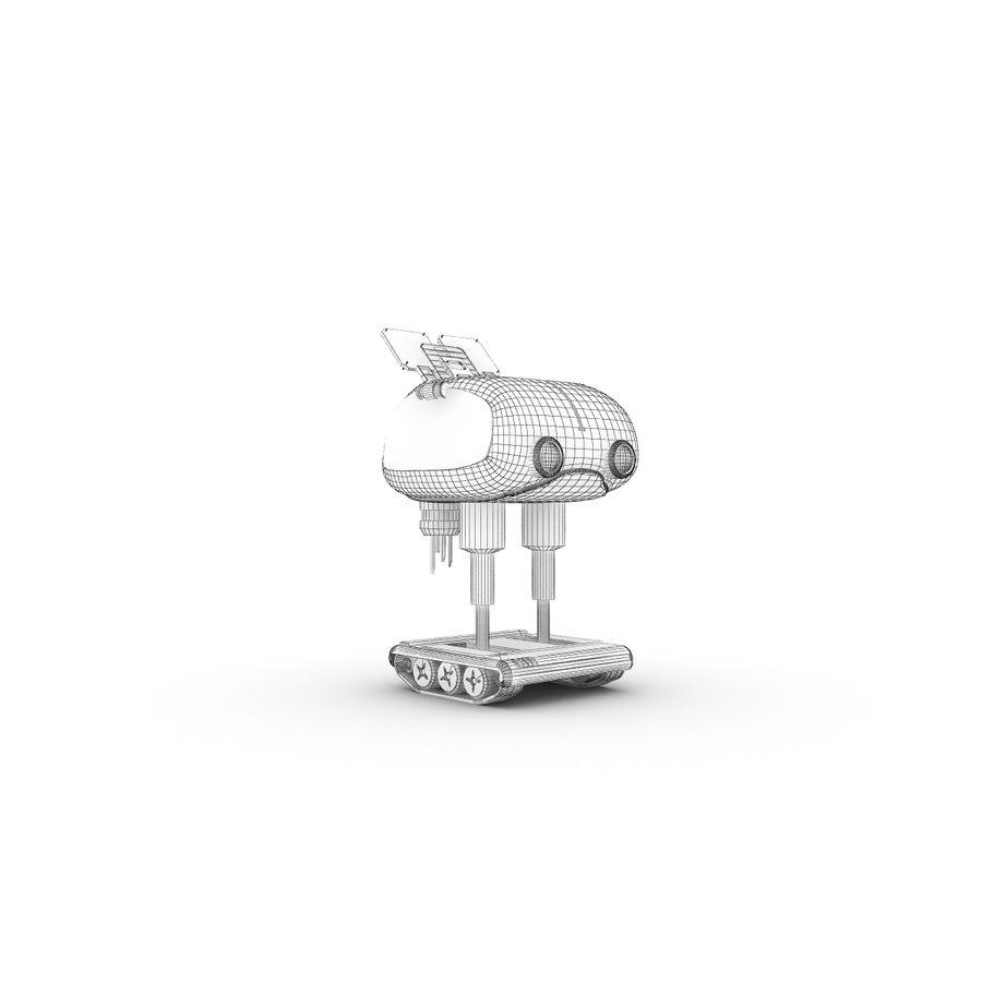 Postać zabawnego robota 14 royalty-free 3d model - Preview no. 7