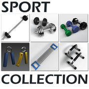 Collection Sport 3d model