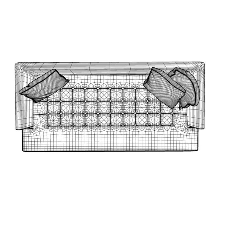 Edward Bensen Sofa royalty-free 3d model - Preview no. 10