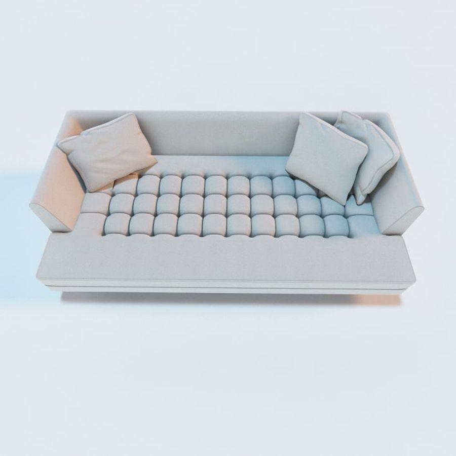 Edward Bensen Sofa royalty-free 3d model - Preview no. 2