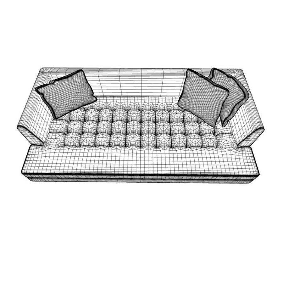 Edward Bensen Sofa royalty-free 3d model - Preview no. 8