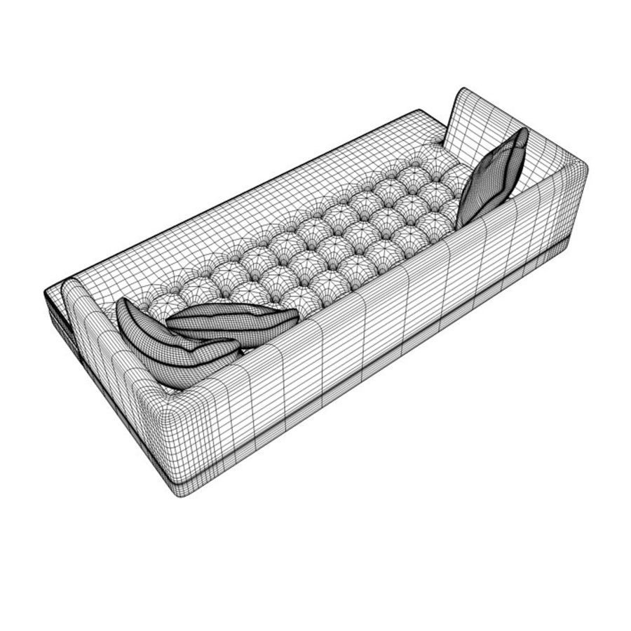 Edward Bensen Sofa royalty-free 3d model - Preview no. 7