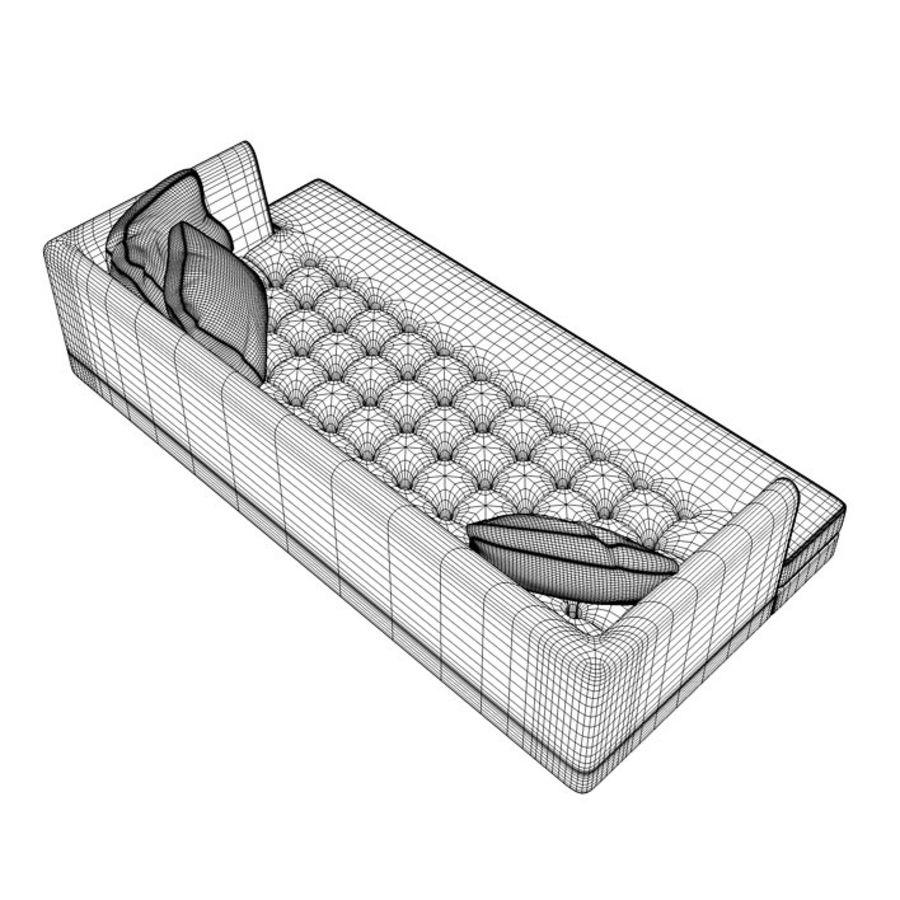 Edward Bensen Sofa royalty-free 3d model - Preview no. 9