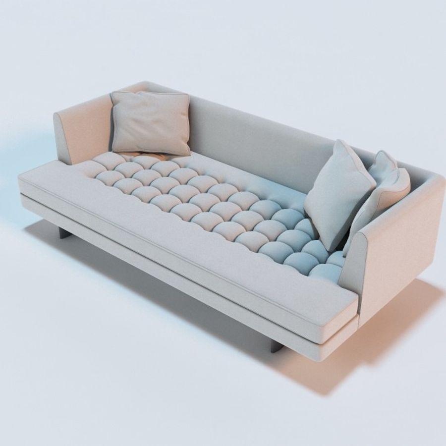 Edward Bensen Sofa royalty-free 3d model - Preview no. 1