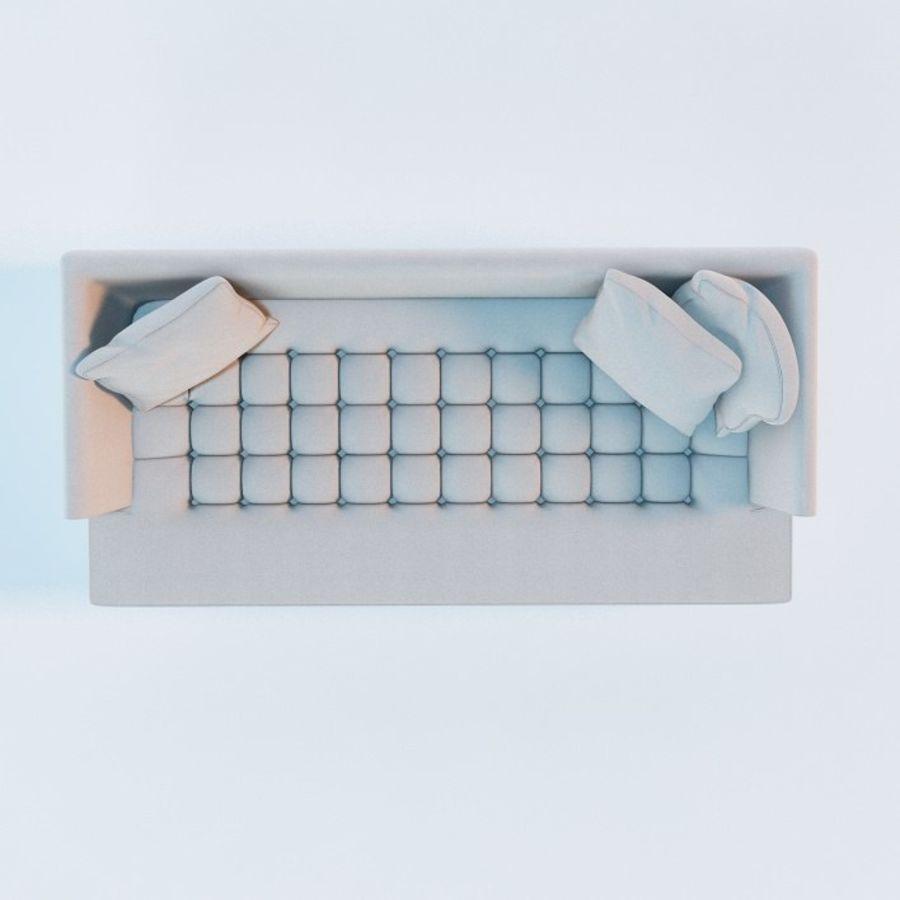 Edward Bensen Sofa royalty-free 3d model - Preview no. 4