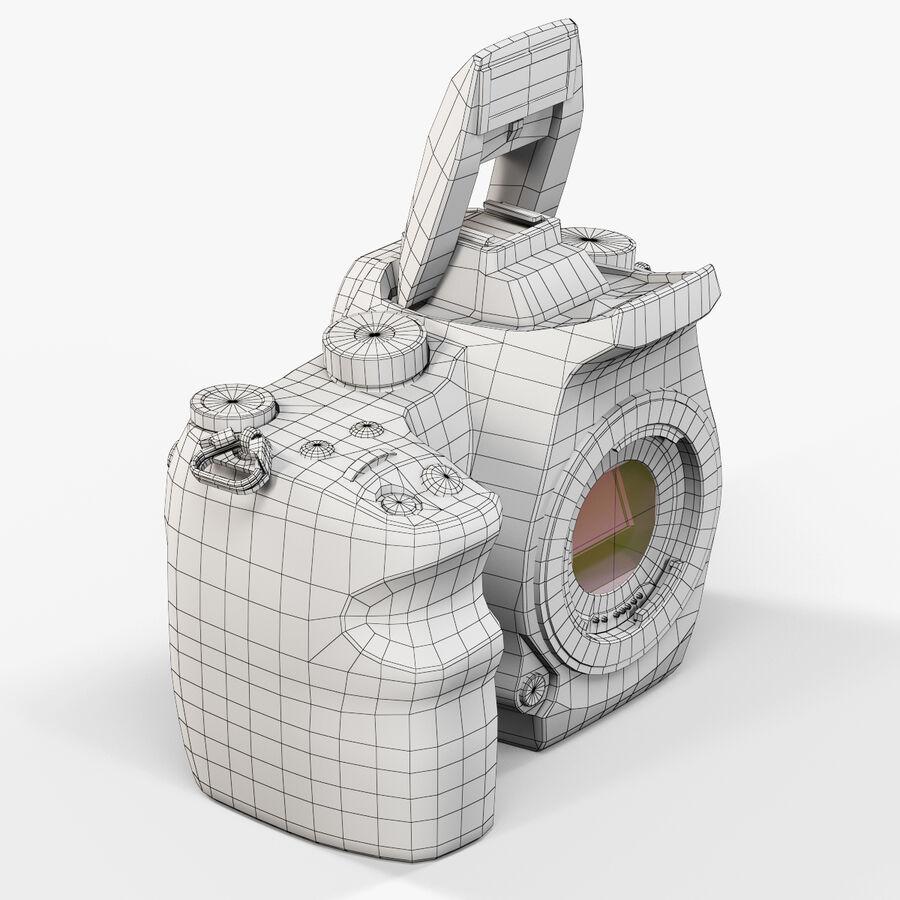 Sigma SD1 Merrill DSLR-kamera royalty-free 3d model - Preview no. 2