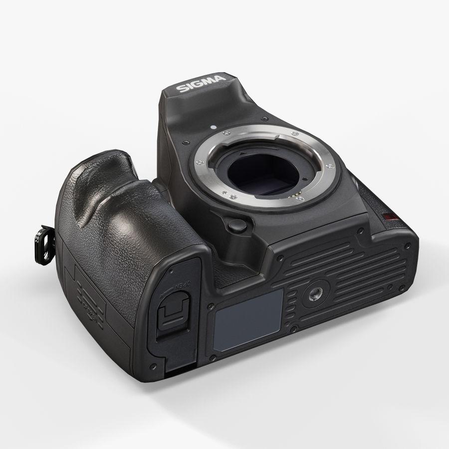 Sigma SD1 Merrill DSLR-kamera royalty-free 3d model - Preview no. 9