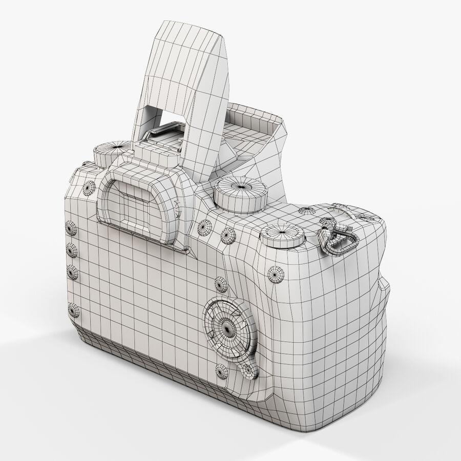 Sigma SD1 Merrill DSLR-kamera royalty-free 3d model - Preview no. 3