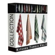 Kitchen Towels Vol.1 3d model