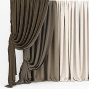 Curtain collection 06 3d model