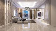 Condominio de sala de estar modelo 3d