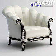 Classical armchair 3d model