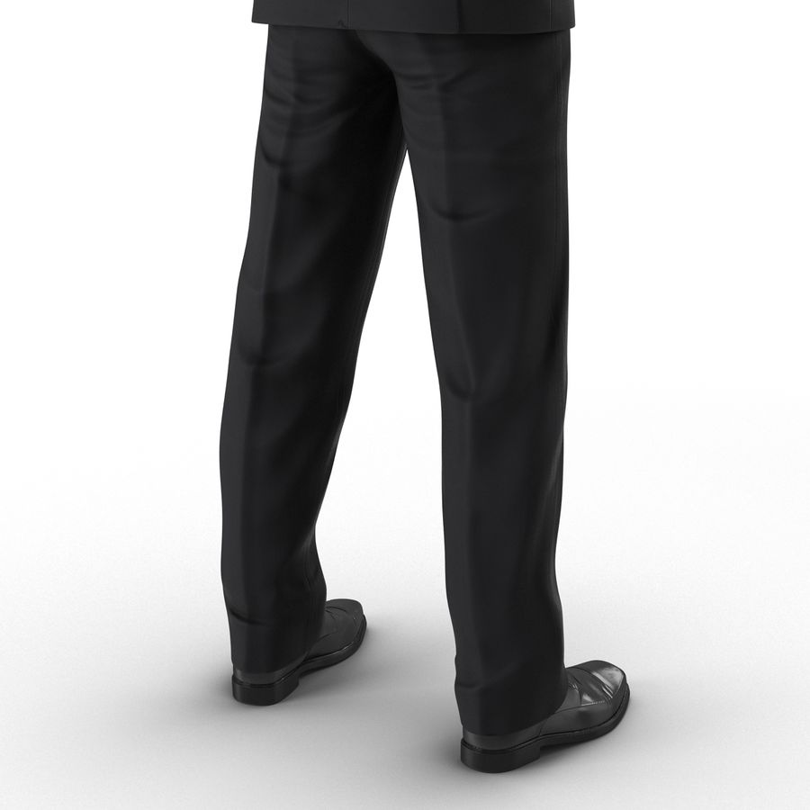 Asian Businessman 3D Model royalty-free 3d model - Preview no. 18