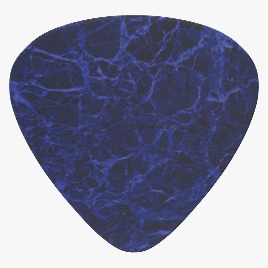 Guitar Pick royalty-free 3d model - Preview no. 1
