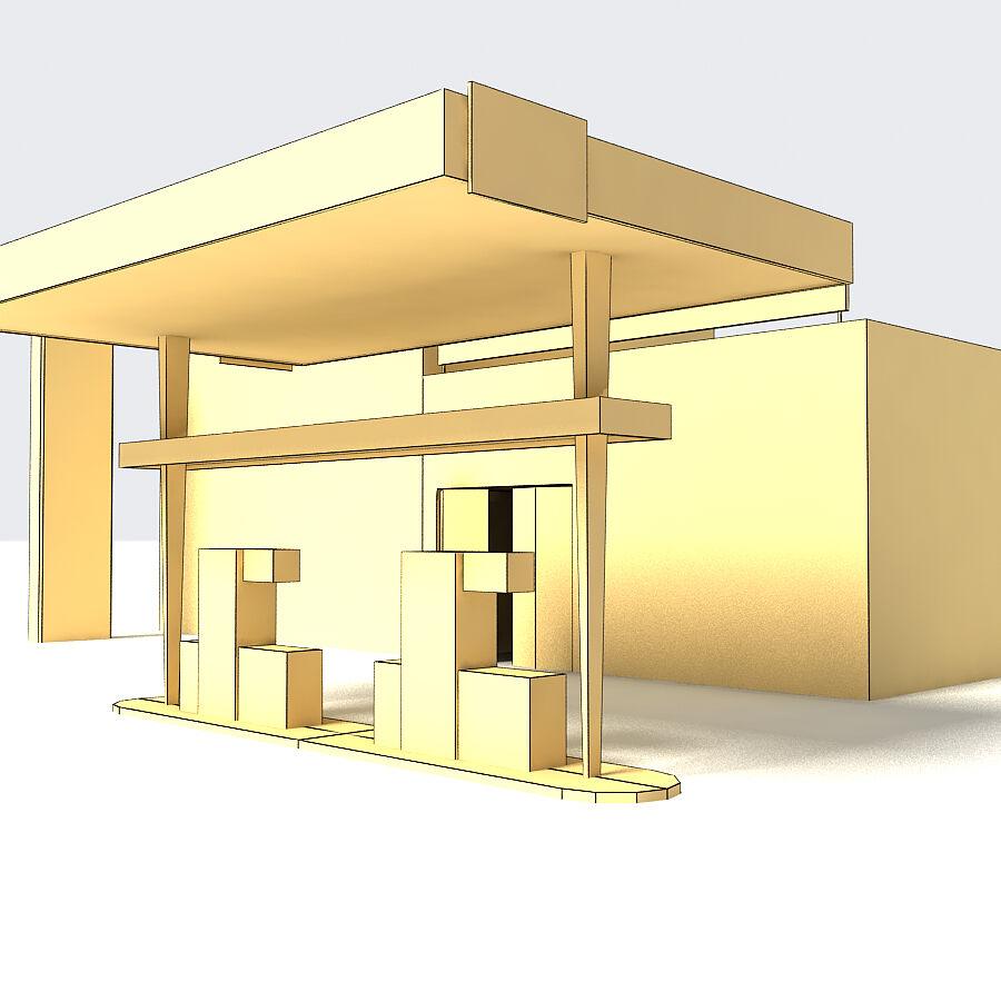 Edificios urbanos de la ciudad royalty-free modelo 3d - Preview no. 9