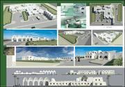 hôpital vernaculaire soins de santé nuba egypte 3d model
