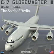 C-17 Globemaster III USAF 3d model