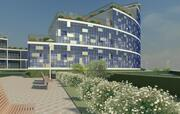 edificio de apartamentos casas en condominio modelo 3d