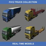 FH12 TRUCKS (tempo real) 3d model