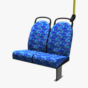 Bus Seating 3d model