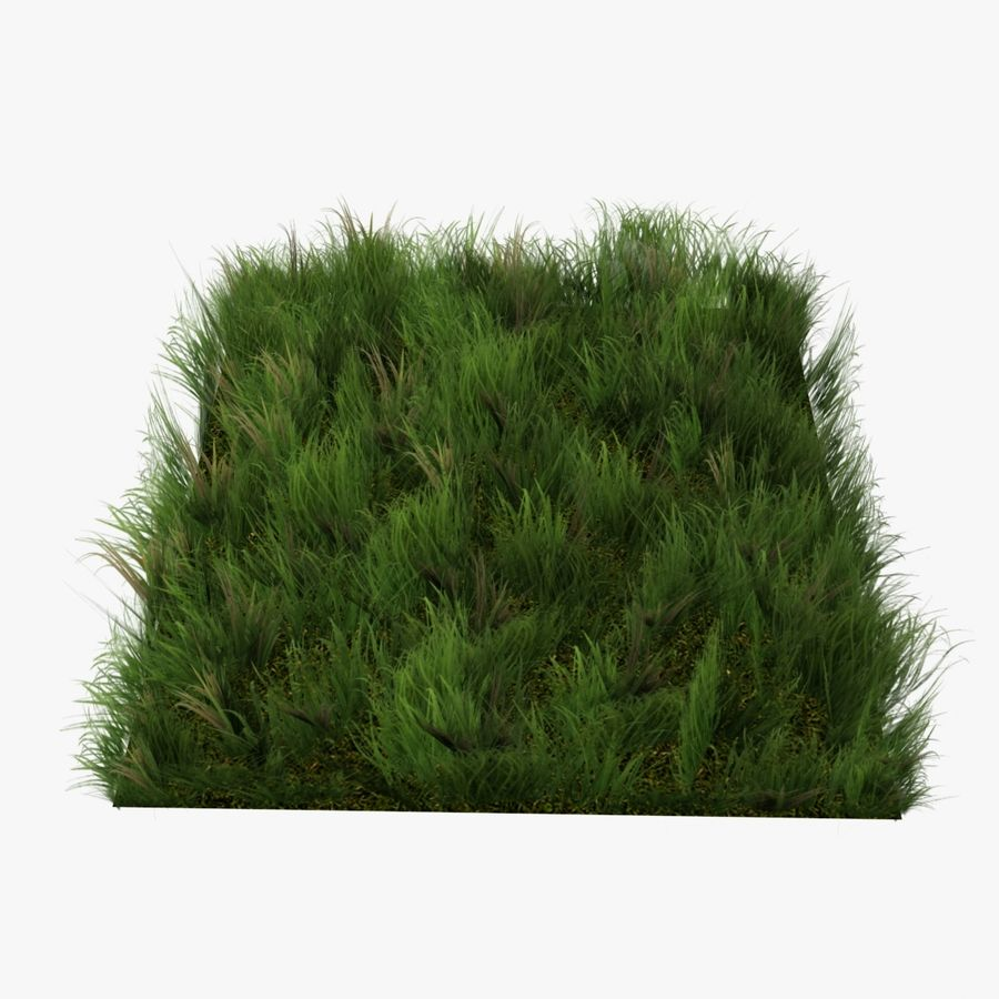 Grass Lowpoly Game Ready royalty-free 3d model - Preview no. 3
