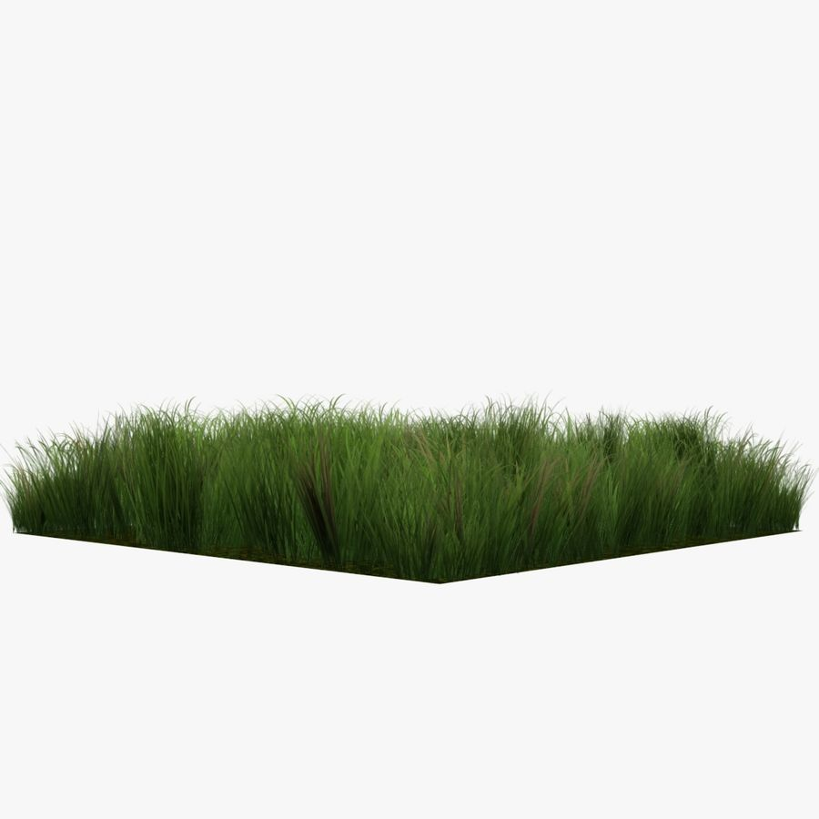 Grass Lowpoly Game Ready royalty-free 3d model - Preview no. 4