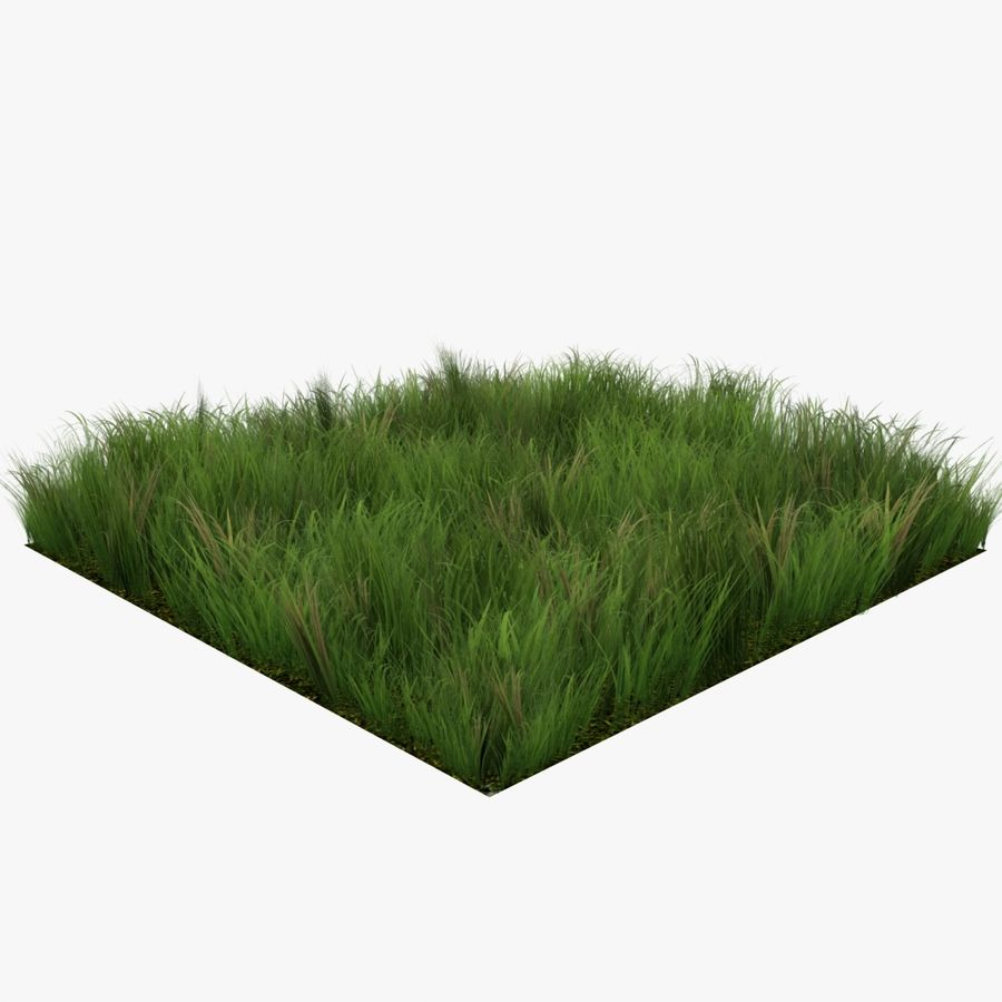 Grass Lowpoly Game Ready royalty-free 3d model - Preview no. 1