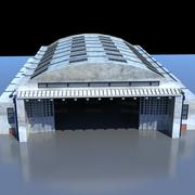Aircraft Maintenance Hangar 3d model
