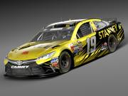 Nascar Toyota Camry Stanley 2015 LowPoly modelo 3d