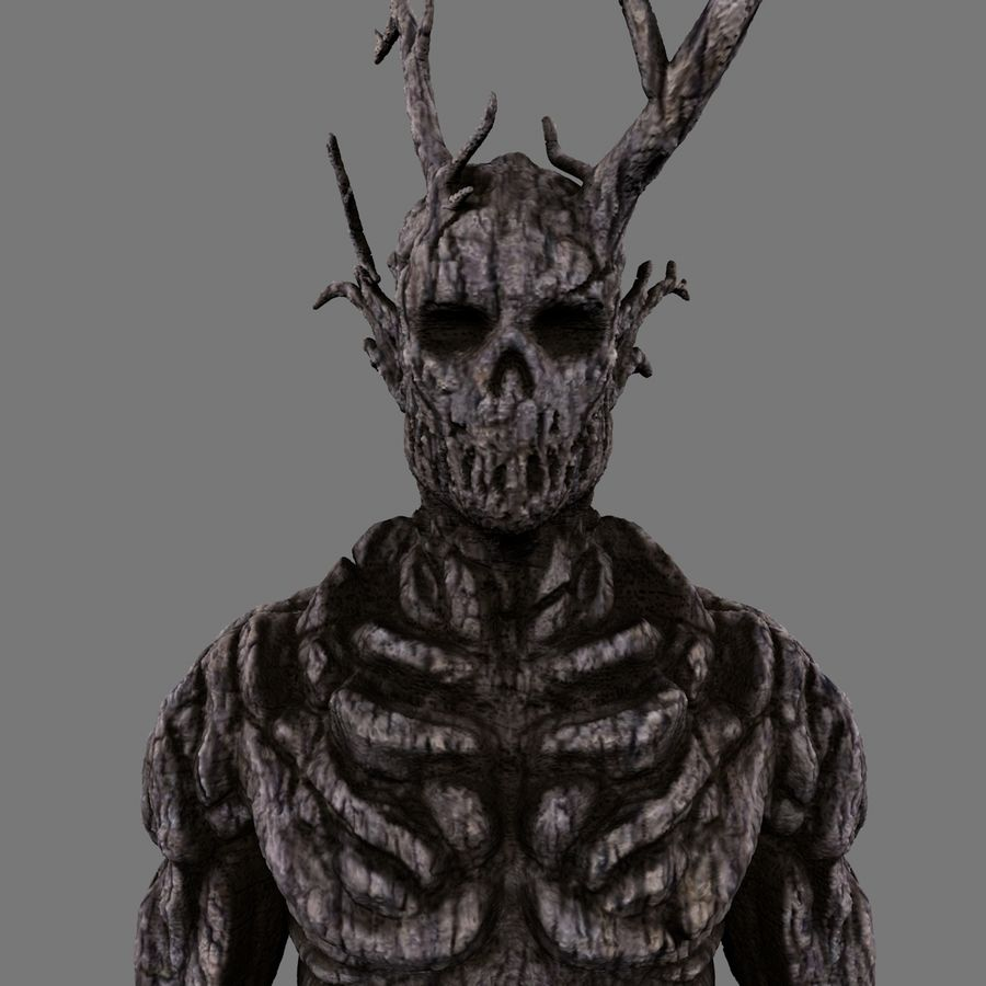 Tree Monster royalty-free 3d model - Preview no. 1