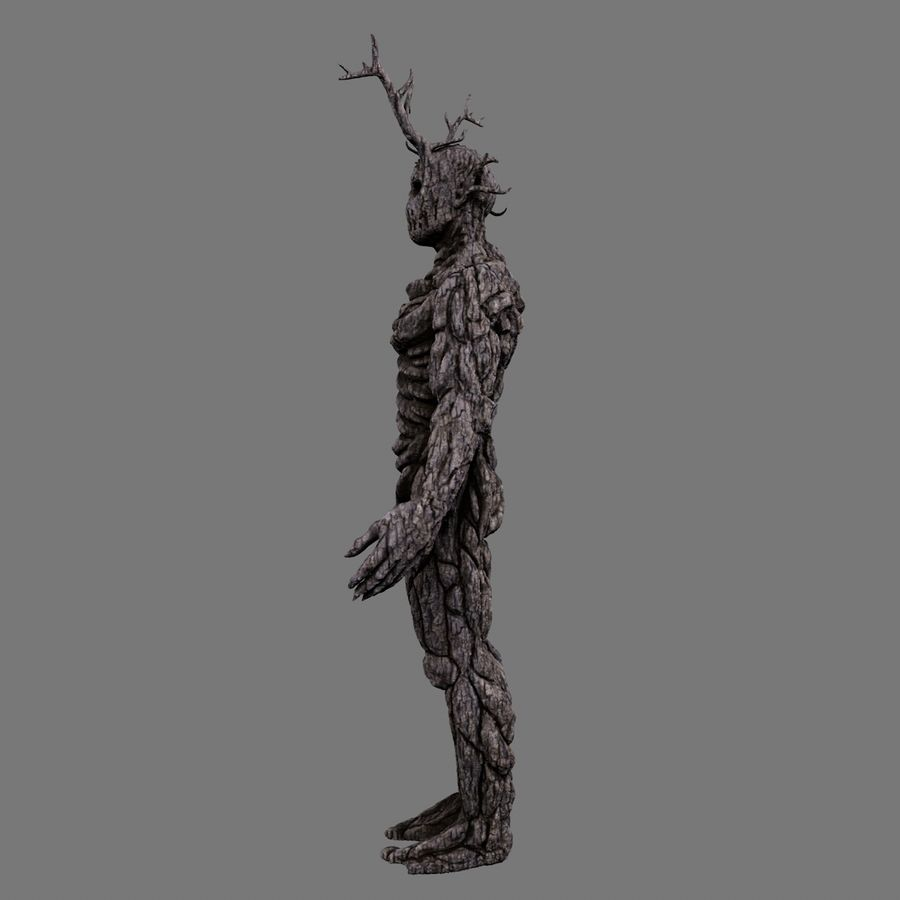 Tree Monster royalty-free 3d model - Preview no. 7