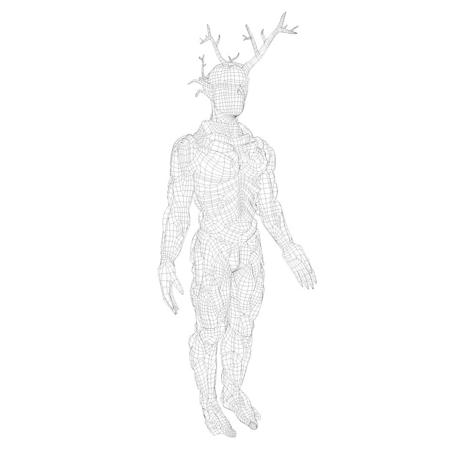 Tree Monster royalty-free 3d model - Preview no. 4