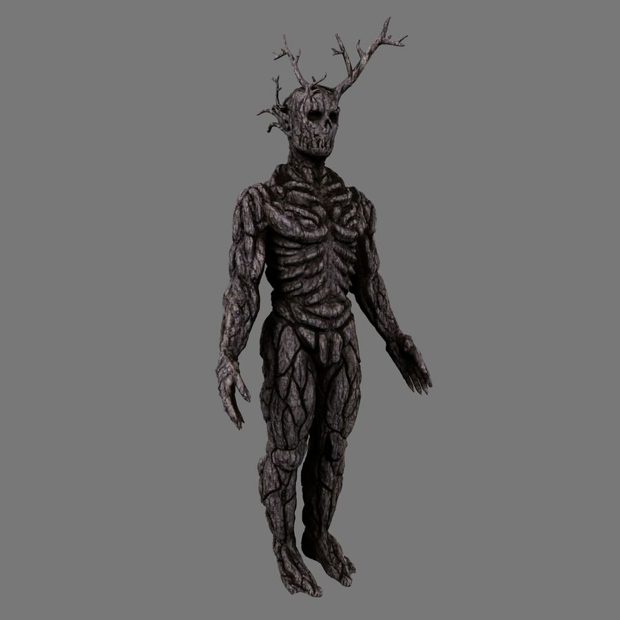 Tree Monster royalty-free 3d model - Preview no. 3