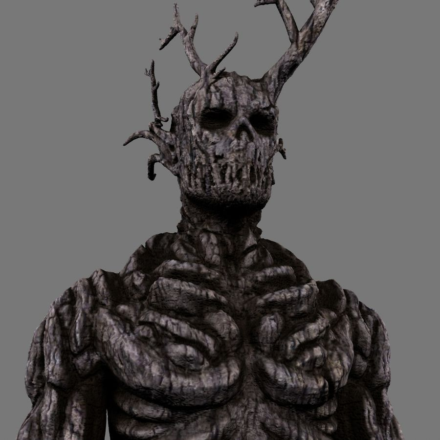 Tree Monster royalty-free 3d model - Preview no. 15