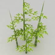 Lowpoly Bamboo 3d model