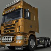 tung lastbil 3d model